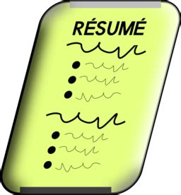 Copying and pasting resume